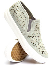 Fashion Lab - Laser Cut Slip On Sneaker