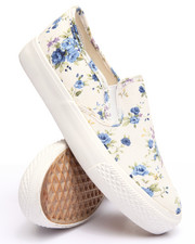Fashion Lab - Floral Slip On Sneaker