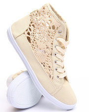 Fashion Lab - Crochet Style Midtop Sneaker