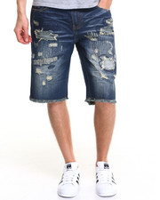 Men - App Denim Shorts