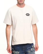 Men - Sahara S/S Crew Heavyweight Tee W/Kangaroo Pockets