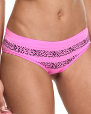 Intimates & Sleepwear - Rose/ Stripe Leopard Textured 3Pk Seamless Hipsters