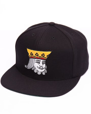 Hats - King Snapback Cap