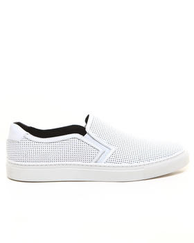 Shoes - Canal Perf Leather Slip on Sneaker