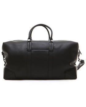 -FEATURES- - Wythe Pebble Leather Weekender Bag