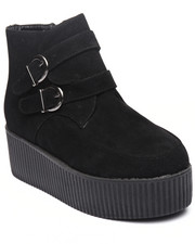Footwear - The Pied Creeper W/2 buckle detail