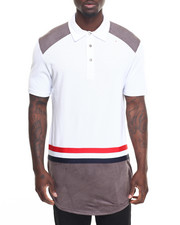 Men - Paneled S/S Polo