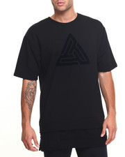 Men - Boxy Fit Multi Layered S/S Tee