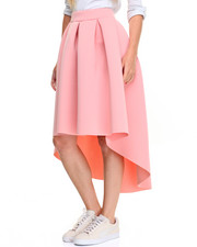 Women - Hi-Low Hem Super Techno Ballgown Skirt