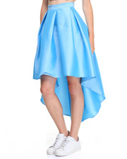 Fashion Lab - Fashionista Hi-Low HemTaffeta Skirt