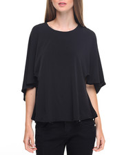 Fashion Tops - Soho Knit Cape Top