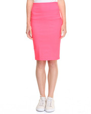 Women - Millenium Back Slit Pencil Skirt