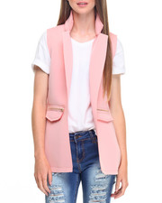 Fashion Lab - Super Techno Zip Trim Vest