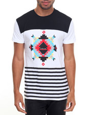 Basic Essentials - Native Print S/S Tee