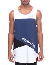 Men - Color Block Tank