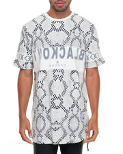Koodoo - ORGANZA 2LAYERD CUT&SEWN SNAKE SKIN VERY-LONG TEE