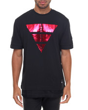 Men - HIERARCHY FOIL PRINTED CREW-NECK TEE