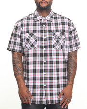Button-downs - Plaid S/S Button-Down (B&T)