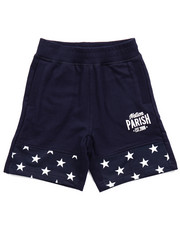 Bottoms - STARS & STRIPES KNIT SHORTS (2T-4T)
