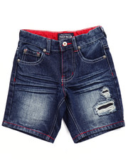 Boys - STARS & STRIPES DENIM SHORTS (4-7)