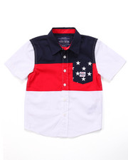 Parish - STARS & STRIPES WOVEN (4-7)