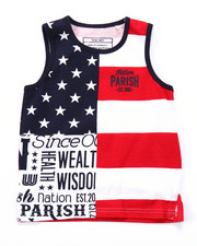 Boys - STARS & STRIPES TANK (2T-4T)