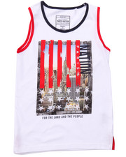 Sizes 8-20 - Big Kids - STARS & STRIPES CITY TANK (8-20)