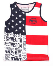 Tanks - STARS & STRIPES TANK (4-7)