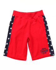Bottoms - STARS & STRIPES KNIT SHORTS (8-20)