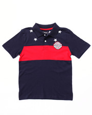 Boys - STARS & STRIPES POLO (8-20)