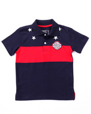 Boys - STARS & STRIPES POLO (4-7)