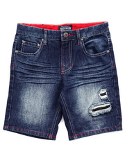 Boys - STARS & STRIPES DENIM SHORTS (8-20)