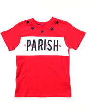 T-Shirts - STARS & STRIPES CUT & SEW TEE (4-7)