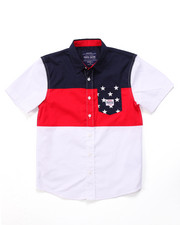 Parish - STARS & STRIPES WOVEN (8-20)