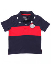 Boys - STARS & STRIPES POLO (2T-4T)