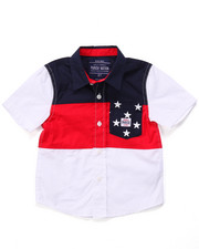 Sizes 2T-4T - Toddler - STARS & STRIPES WOVEN (2T-4T)