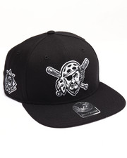 Men - Pittsburgh Pirates Sure Shot 47 Captain Snapback Cap