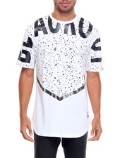 Men - Blackout Speckle Tee