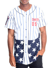 Shirts - Americana Fishtail Baseball Jersey