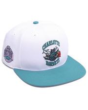 Hats - Charlotte Hornets Sure Shot Two Tone 47 Captain Snapback Cap