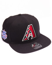 Men - Arizona Diamondbacks Sure Shot 47 Captain Snapback Cap