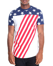 Men - Americana Scallop S/S Tee