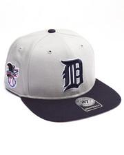Hats - Detroit Tigers Sure Shot Two Tone 47 Captain Snapback Cap