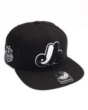 Hats - Montreal Expos Sure Shot 47 Captain Snapback Cap