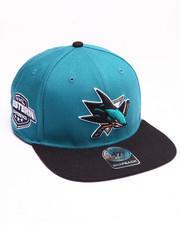 Hats - San Jose Sharks Sure Shot 47 Captain Snapback Cap