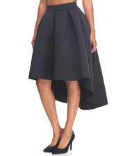 Bottoms - Hi-Low Hem Super Techno Ballgown Skirt