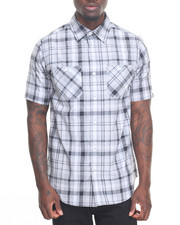 Akademiks - Hill Plaid S/S Button-Down