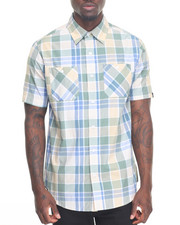 Akademiks - Vaughn Plaid S/S Button-Down