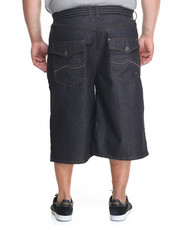Enyce - New Tradition Raw Belted Denim Short (B&T)