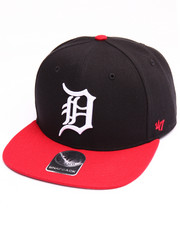 Men - Detroit Tigers Sure Shot Two Tone 47 Captain Snapback Cap